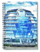 London's City Hall Spiral Notebook
