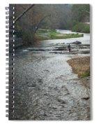 Lone Fisherman 2 Spiral Notebook