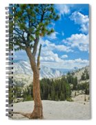 Lone Pine At Half Dome Spiral Notebook
