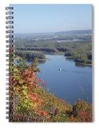 Lone River Boat Spiral Notebook