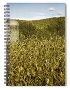 Lone Silo Spiral Notebook