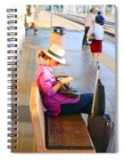 Lone Traveler Spiral Notebook