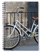 Lonely Bike Spiral Notebook