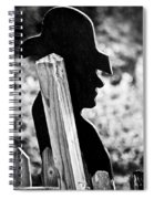 Lonely Cowboy Spiral Notebook
