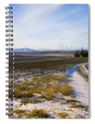 Lonely House On The Prairie Spiral Notebook