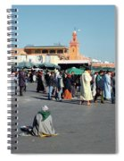 Lonely In Marrakesh Spiral Notebook