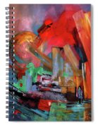 Lonely In The Big City Spiral Notebook