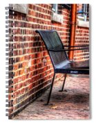 Lonely Seat Spiral Notebook