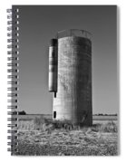 Lonely Silo 6 Spiral Notebook