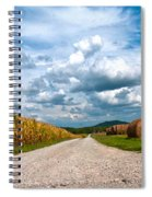 Lonesome Lane Spiral Notebook