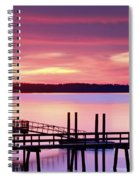 Long After Sunset Spiral Notebook