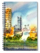 Long Beach Oil Islands Spiral Notebook