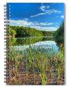 Long Branch Lake Marsh Spiral Notebook