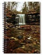 Long Canyon Waterfall Spiral Notebook