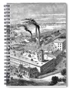 Long Island: Factory Spiral Notebook