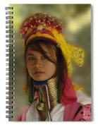 Long Neck Beauty Karen Tribe Spiral Notebook