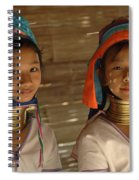 Long Neck Girls Spiral Notebook