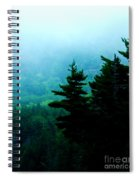 Long Pond Silhouettes Spiral Notebook