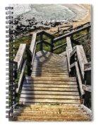 Long Stairway To Beach 2 Spiral Notebook