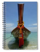 Long Tail Boat Thailand Spiral Notebook