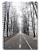 Long Way Spiral Notebook