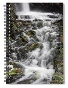 Longfellow Grist Mill Waterfall Spiral Notebook