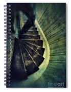 Looking Down An Old Staircase Spiral Notebook