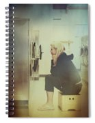 Looking For Answers In All The Wrong Places Spiral Notebook