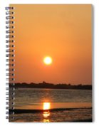 Looking For Shells On The The Beach - Dunedin Florida Spiral Notebook
