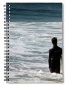 Looking For The Big One Spiral Notebook