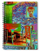 Looking In Spiral Notebook