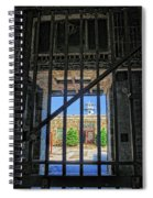 Looking Through The Bars Spiral Notebook