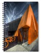 L'orange Facade Spiral Notebook
