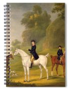 Lord Bulkeley And His Harriers Spiral Notebook