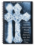 Lord Have Mercy With Lyrics Spiral Notebook