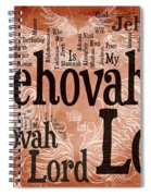 Lord Jehovah Spiral Notebook