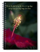 Lord Jesus My Love Spiral Notebook