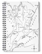 Lorraine And Alsace: Map Spiral Notebook