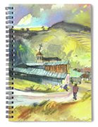 Los Olmos De Penafiel In Spain 01 Spiral Notebook