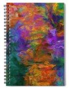 Lost In October Spiral Notebook