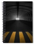 Lost In The Shadows I Walk Alone Spiral Notebook
