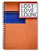 Lost Love Lounge Spiral Notebook