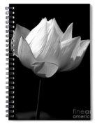 Lotus Bw Spiral Notebook