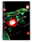 Lotus Lanterns 4 Spiral Notebook