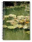 Lotus Pond 2 Spiral Notebook