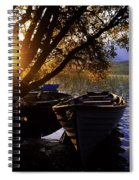 Lough Arrow, Co Sligo, Ireland Lake Spiral Notebook