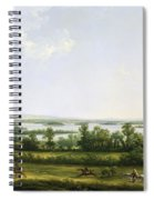 Lough Erne From Knock Ninney - With Bellisle In The Distance Spiral Notebook