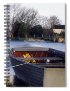 Lough Neagh, Co Antrim, Ireland Boat In Spiral Notebook