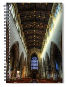 Loughborough Church Ceiling And Nave Spiral Notebook