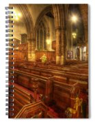 Loughborough Church Pews Spiral Notebook